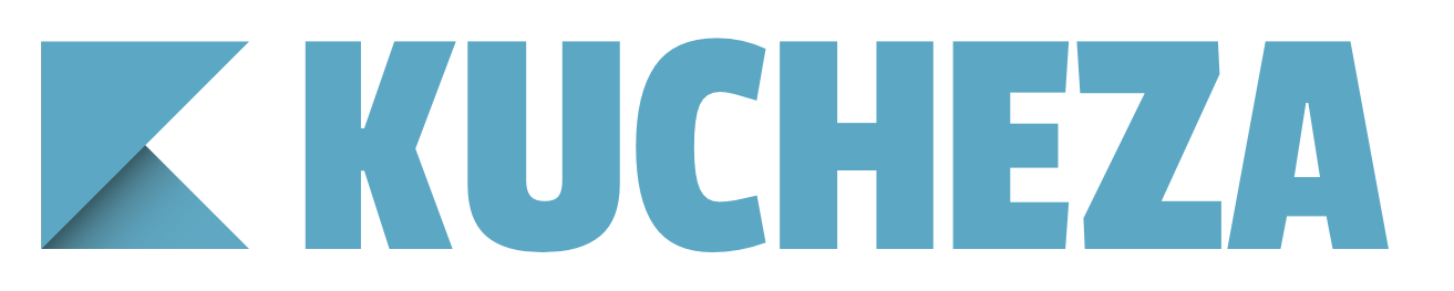 Blue version of the Kucheza logo